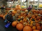 """Esta fachada de loja no Chelsea Market reflete bem a """"pumpkin mania"""" do Dia das Bruxas em NYC"""